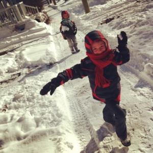snow, fun, homeschool, kids, parenting, lifeschool, joy, love