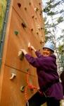 Annette Climbing