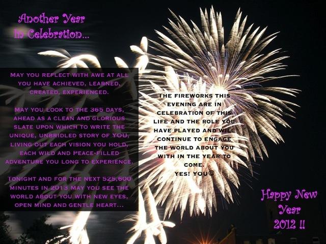 newyears2012, inspiration, love, fireworks