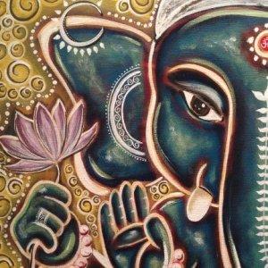 Ganesha by Angela Gollat
