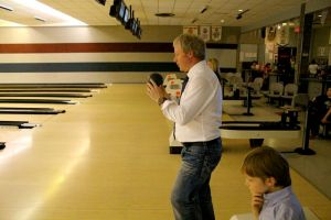 Dad n' Liam Contemplt Bowl